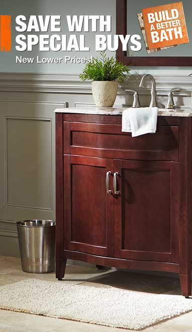 bathroom vanities and vanity cabinets at the home depot