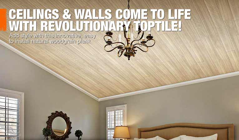 LOOK UP AND TAKE YOUR CEILING BEYOND THE DRYWALL
