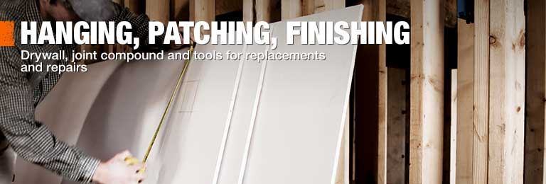 Shop The Home Depot for drywall, joint compound and tools for replacements and repairs.