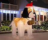 Outdoor Christmas Decorations & Inflatables