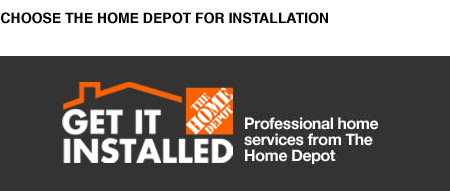 Learn about Home Depot installation services