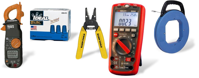 Find a large selection of electrical tools, test meters, electrical staples, fish tapes, lubes and other electrical accessories at The Home Depot.