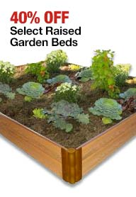 raised garden beds on sale 40% off at Home Depot