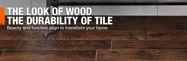 The Look of Wood The Durability of Tile