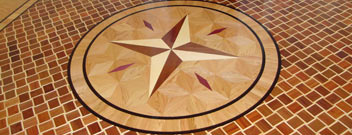 Add Beauty & Value To Your Home With Hand-Crafted Hardwood Floor Medallions