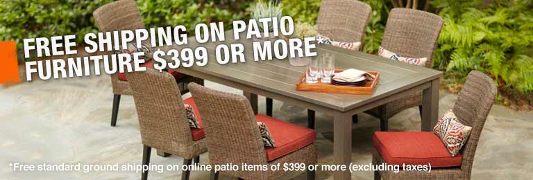 patio furniture at The Home Depot