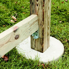 how to build wood rail fence