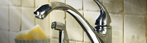 how to replacing a kitchen faucet and side sprayer at the