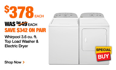 The Solution, the Home Depot Protection Plan, any appliance purchased from the Home Depot is eligible and the plans are comprehensive and very reasonable. Ask your sales associate for the details. Tips for a Hassle Free Appliance Purchase.