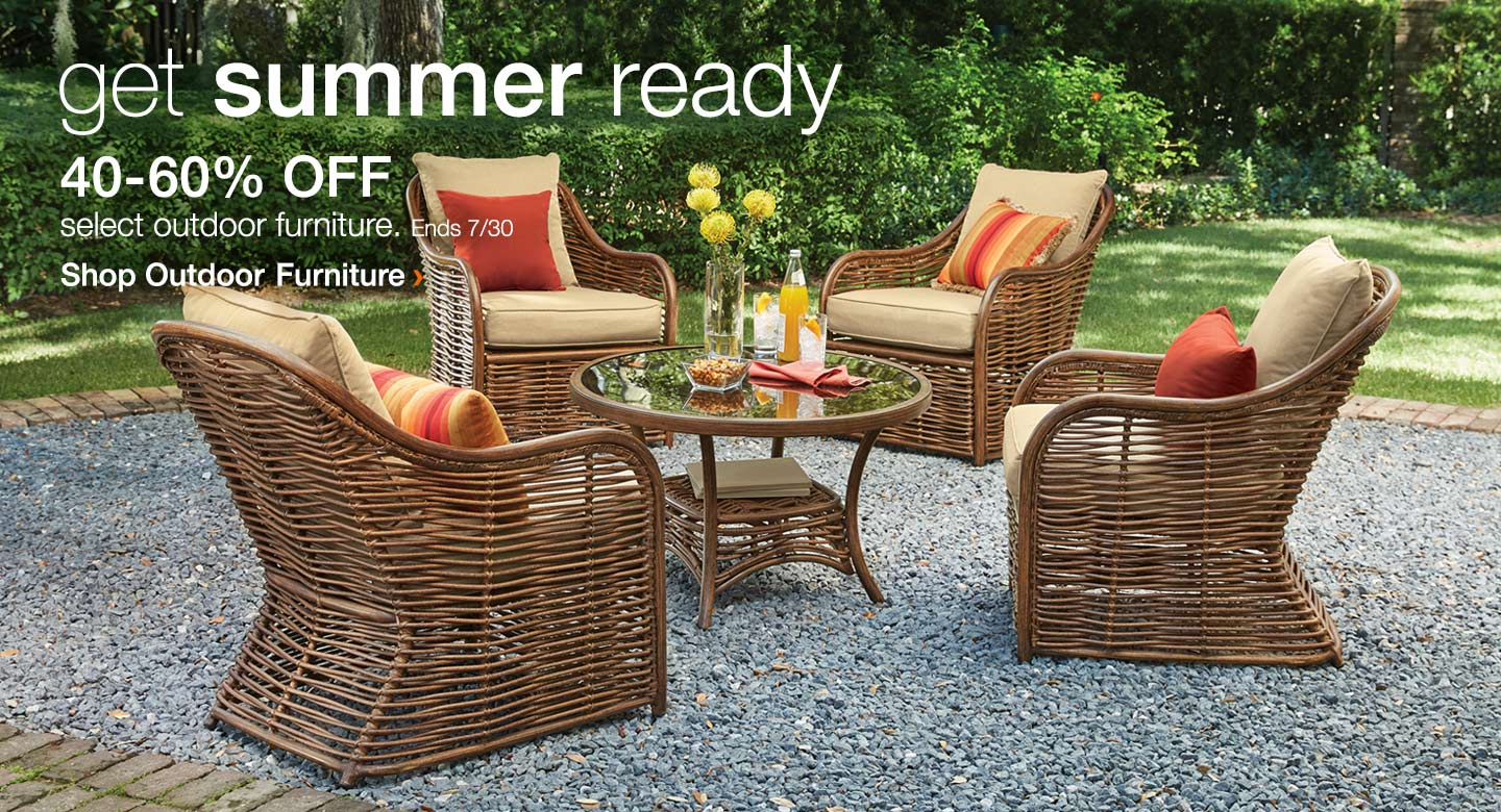 40-60% Off Select Outdoor Furniture
