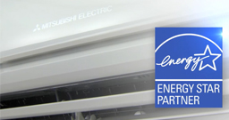 Mitsubishi electric ductless systems for Energy efficient brands