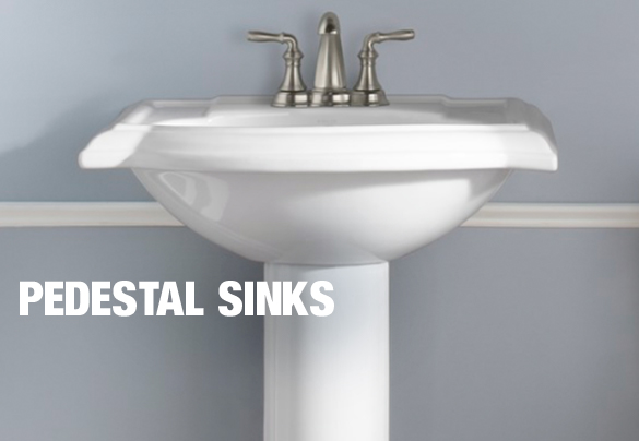 Pedestal Sinks. Bathroom Sinks at The Home Depot