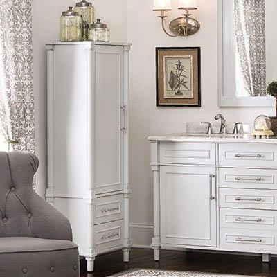 Bathroom Linen Cabinets Shop Vanities  Vanity at The Home Depot