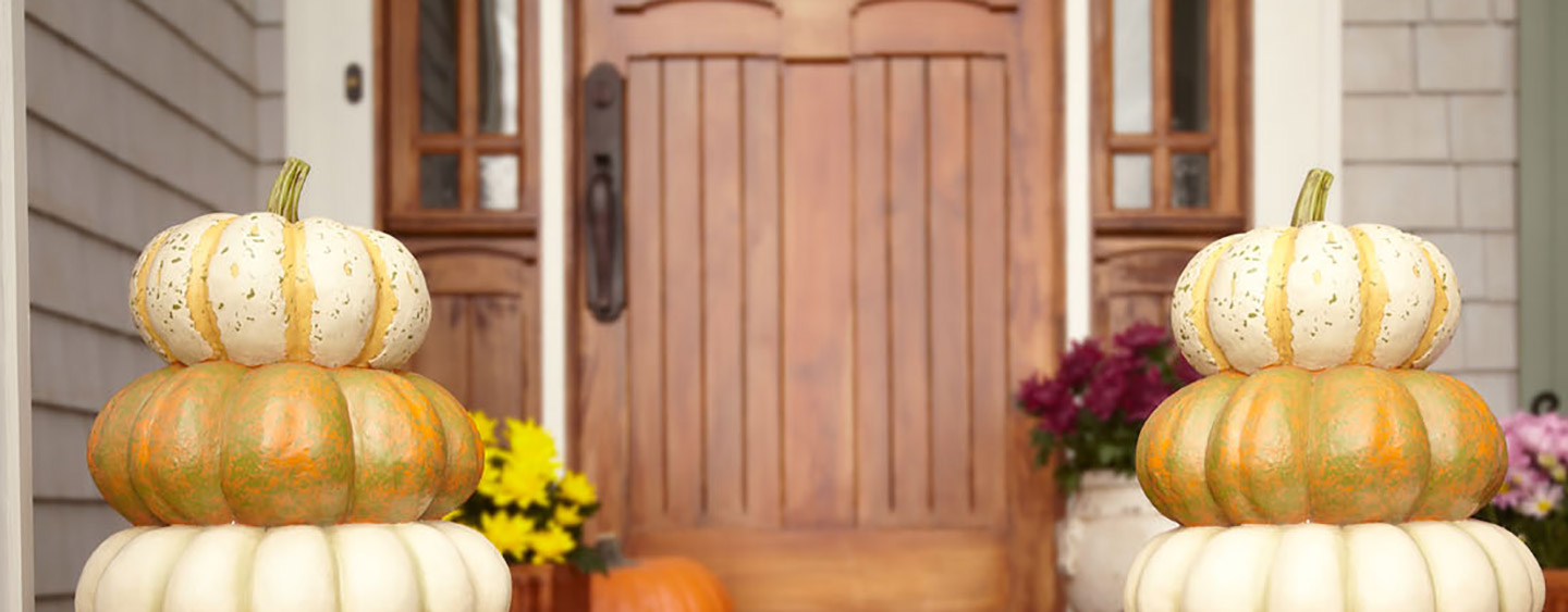 bring harvest home a colorful cornucopia of fall decor - Fall Decorations For Home