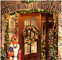 28 home depot holiday decor get the ultimate christmas decor for your porch garden club for Home depot christmas decorations for the yard