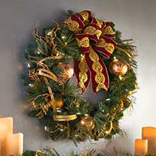 Shop outdoor christmas decorations at the home depot for Home depot christmas lawn decorations