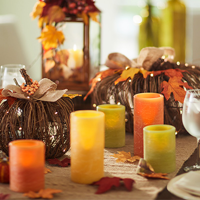 centerpieces - Fall Decorations For Home
