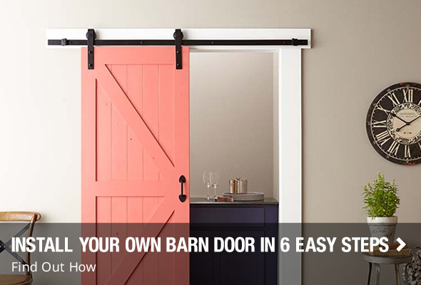 Install your own Barn doors in 6 easy steps. Interior Doors at The Home Depot