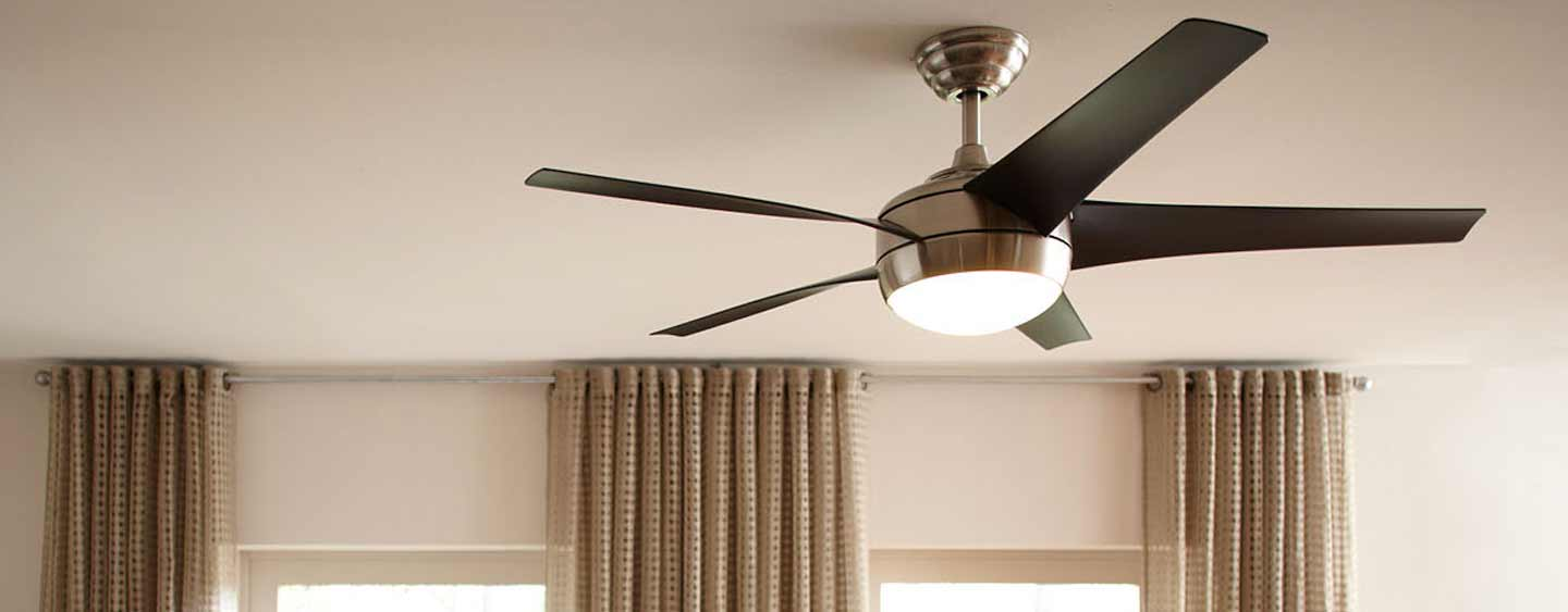 Outdoor Ceiling Fans Indoor Ceiling Fans At The Home Depot - Ceiling fan with light for bedroom