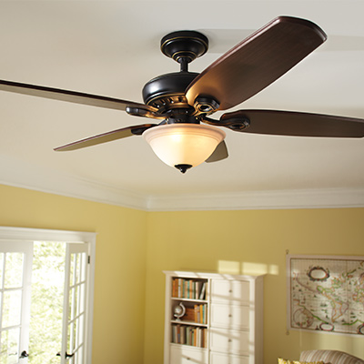 Outdoor Ceiling Fans Amp Indoor Ceiling Fans At The Home Depot