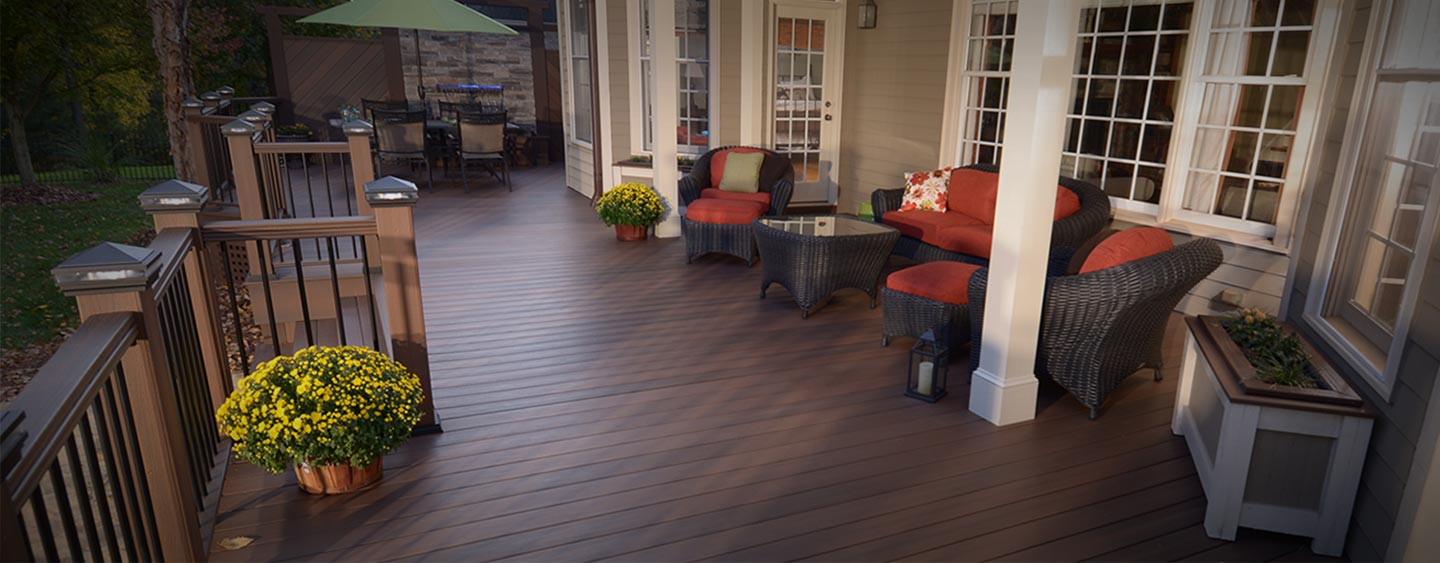 STEP UP TO COMPOSITE DECKING. Decking   Deck Building Materials at The Home Depot