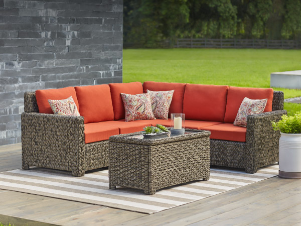 Patio Furniture The Home Depot - Wicker patio furniture sets