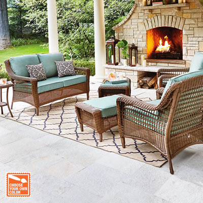 Elegant Customize Your Patio Set Regard To Home Depot Patio