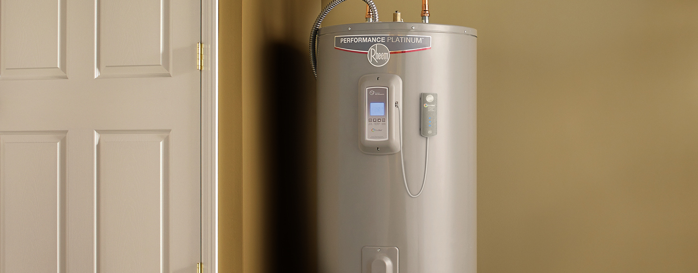 10% off a Rheem Water Heater when installed by Home Depot