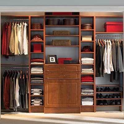 wood closet systems - Closet Designs Home Depot