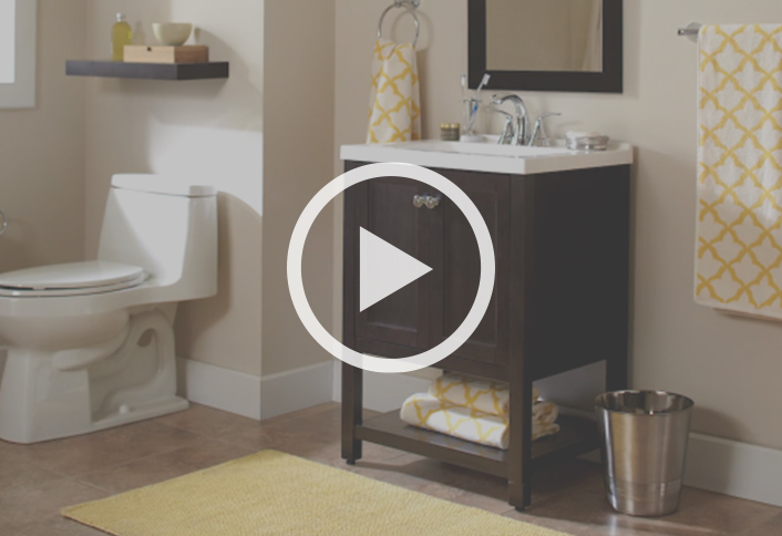 7 affordable bathroom updates for a budget friendly for Bathroom ideas home depot