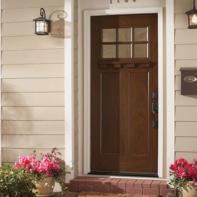 wood choose exterior doors