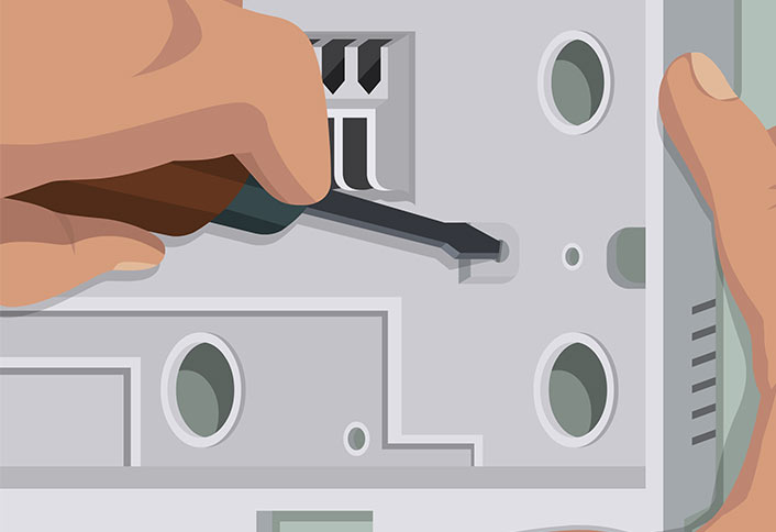 Install new  thermostat - Installing a Thermostat