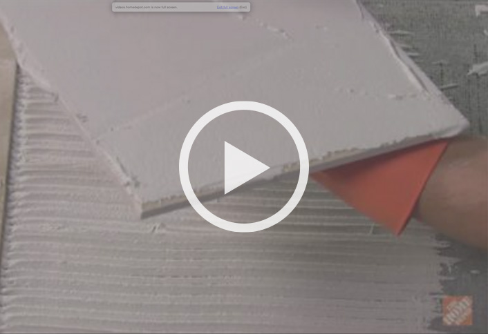 Floor Material how to install ceramic and porcelain floor tile at the home depot