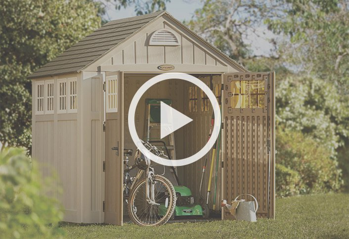 Garden Sheds At Home Depot learn about outdoor installed storage solutions at the home depot
