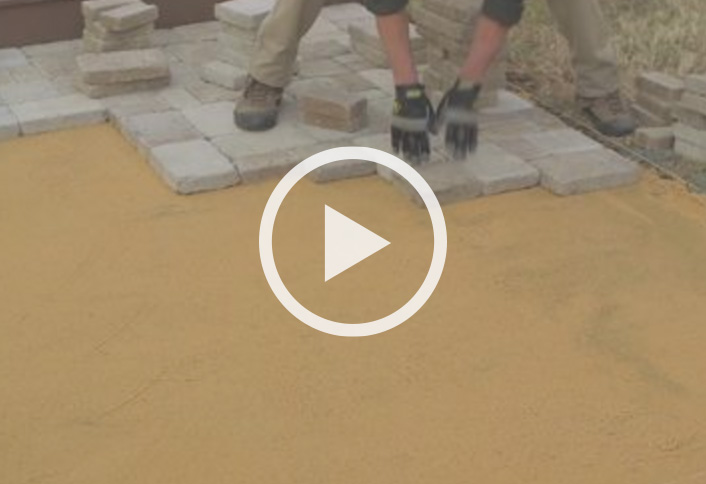 installing a paver patio at the home depot - Paver Stone Patio Ideas