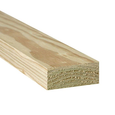 Ground contact pressure-treated lumber
