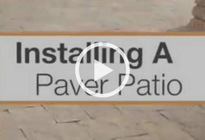Installing a Paver Patio at The Home Depot – Patio Bricks