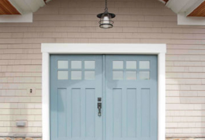Matching Your Exterior Door With A Subtle Color From Your Tile Is A Great  Way To Make The Tile And Door Pop. In This Example, Painting The Exterior  Door An ...