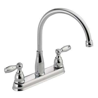 install kitchen faucet with sprayer installing a kitchen faucet and side sprayer at the home depot 8744