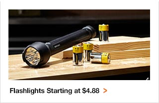 Flashlights starting at $4.88
