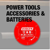 Power tools accessories & batteries