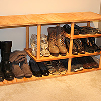 Charmant A Shoe Rack Is A Great Way To Store Multiple Pairs Of Shoes.