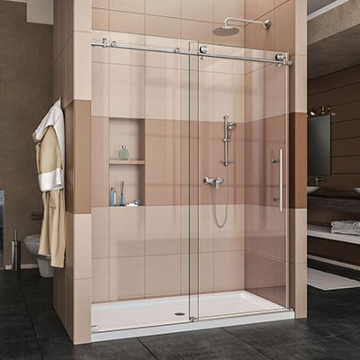 save up to 20 percent on showers & shower doors