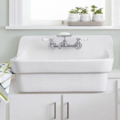 Stainless Steel - Farmhouse & Apron Kitchen Sinks - Kitchen Sinks ...