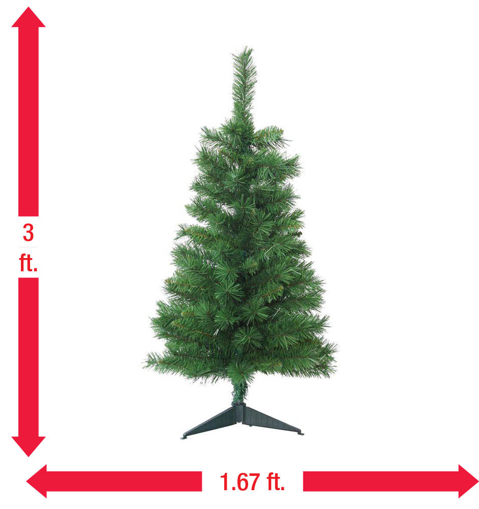 16 Foot Christmas Tree: Home Accents Holiday 3 Ft. Unlit Tacoma Pine Artificial
