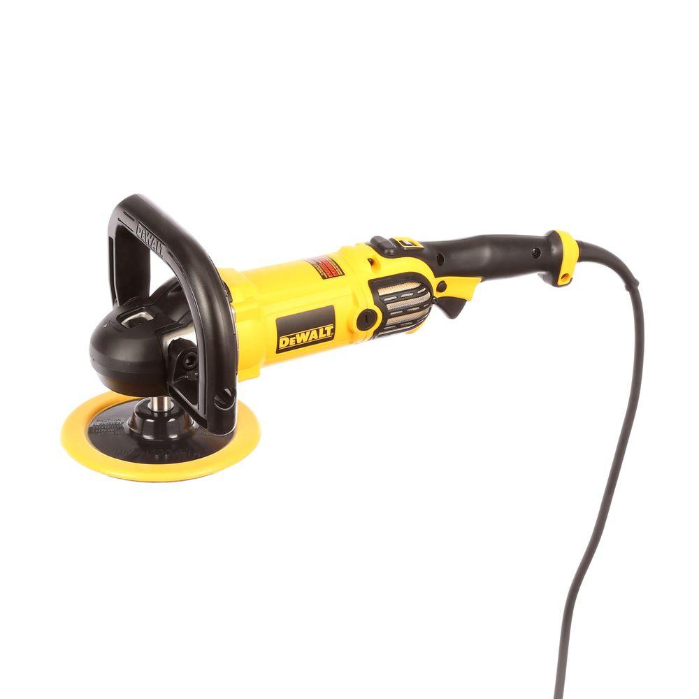 Dewalt 12 Amp 7 In 9 In Variable Speed Polisher With