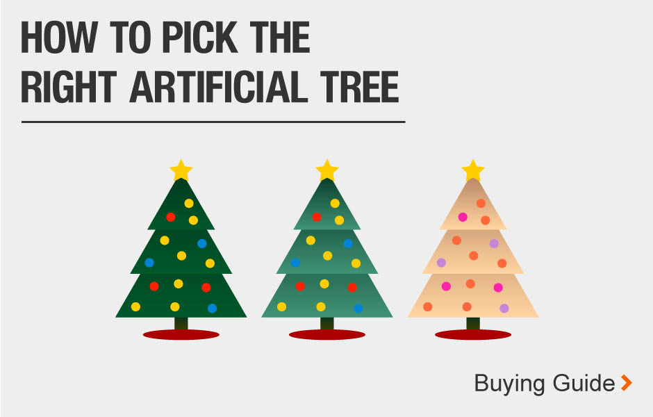How to pick the right artificial tree buying guide.