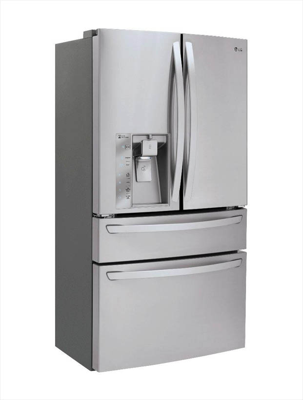 205346627 0 lg electronics 22 7 cu ft french door refrigerator in stainless  at suagrazia.org