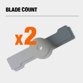 Includes 2 blades