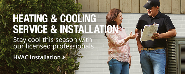 Heating and Cooling Service & Installation.